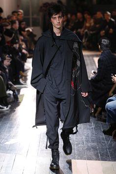 Yohji Yamamoto | Menswear - Autumn 2016 | Look 12