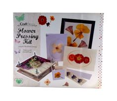 Complete Flower Pressing Kit - By Craft Deco - Lots of Items *** Want to know more, visit