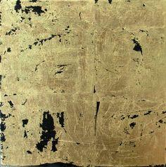 Gold Leaf Donald Fontenot Gold Leaf Art, Gold Work, Illuminated Manuscript, Gold Paint, Vintage Paper, Diy Art, Art Decor, Contemporary Art, Collages
