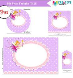 Kit Festa Fadinha lilás