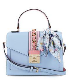 c582378cbee ALDO Glendaa Small Top Handle Handbag Blue Handbags