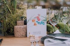 Oh this wedding gives me all the feels! I adore all the beautiful details and colour pops – a real treat for the eyes. All these fynbos illustrations used in the stationery was painted especi… Wedding Menu, Wedding Favors, Wedding Day, Name Cards, Thank You Cards, Calligraphy Envelope, Bar Menu, Tent Cards, Gold Ink