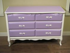 Not the colours of course, but this is a similar dresser.