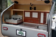 TerraDrop mobile-kitchen in #trailer #outdoor #adventure #travel #travelling