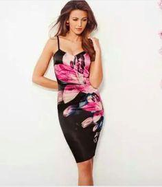 6f2085e0da Michelle Keegan Floral Print Cami Dress Michelle Keegan