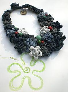 reuse and make beautiful jewelry