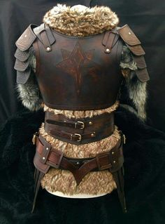 We have one of the most comprehensive ranges of Leather Armour in the world, with period costumes, LARP and SCA armour all in stock at Black Raven Armoury. Viking Armor, Medieval Armor, Larp, Costume Armour, Armor Clothing, Viking Costume, Armadura Medieval, Shield Maiden, Cosplay Armor