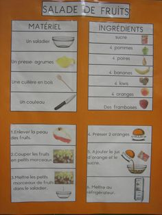recette de la salade de fruits Food In French, Gout Relief, Kids Meals, Easy Meals, Gout Remedies, Fruits Images, Lolo, Foods To Avoid, Cooking With Kids