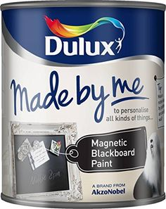 Dulux Made By Me Magnetic Blackboard Paint 750ml: Amazon.co.uk: DIY & Tools