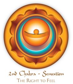SECOND CHAKRA-CHAKRA RIGHTS: The Right to Feel The Second Chakra is the center of feelings, emotions and pleasure. All intimacy and connection arises from this center as it invites one to know themselves first before claiming to know another. The human being needs touch, pleasure and passion in order to balance all other energies. All the senses are activated through this chakra.