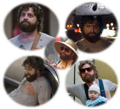 This guy could join our wolf pack anytime - happy birthday Zach Galifianakis! 10/1/13