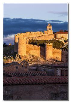 Ávila, Castila y León, Spain, fue declarada, patrimonio de la humanidad,el año 1985 por la Unesco
