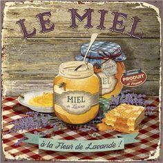 postal miel cocina Le Miel (Bruno Pozzo)