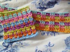 The 8th Gem: Block stitch and Interlocking block stitch