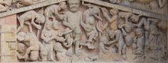 Tympan du Jugement dernier de Conques - Tourisme Conques Marcillac (12)