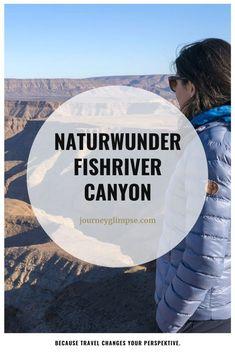 Den Grand Canyon kennt inzwischen fast jeder, nicht aber den zweitgrössten Canyon der Welt, den Fishriver Canyon. Auch dieses Naturwunder hat einiges zu bieten. Grand Canyon, Journey, Movies, Movie Posters, Travel, Natural Wonders, World, Viajes, Film Poster