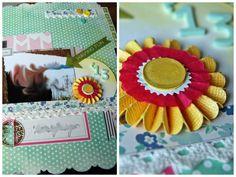 Tutorial Scrapbook Hochzeitsalbum von Anne für die YouTube-Aktion von www.danipeuss.de |Heidi Swapp Memory File Folders
