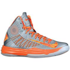 Nike Hyperdunk - Men's - Basketball - Shoes - Wolf Grey/Orange Blaze