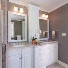 Clean and beautiful vanity tops. Recreate this natural stone look with the Swan Altitude Series.