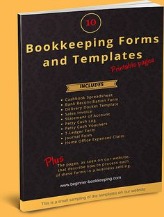Free excel bookkeeping templates, full customization access, great for small business use or bookkeeping students