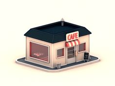 Pop up store - animated gif