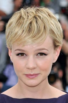 Looking and, no doubt, feeling cool in the summer heat, here's a cute pixie cut that suits Carey's style perfectly! The hair is trimmed into short layers with lightly textured ends and combed forward from the crown with a touch of wavy movement. The fringe is short enough to be cool when the temperatures rise[Read the Rest]