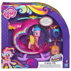 My Little Pony Pinkie Pie Rainbow Helicopter Playset - £16.00 ...