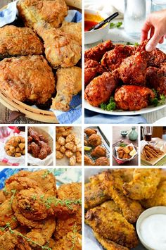 The BEST Fried Chicken Recipes including chicken nuggets, Japanese fried chicken and KFC style chicken. Chicken Wing Sauces, Chicken Nuggets, Grilling Recipes, Cooking Recipes, Burger Recipes, Fried Wings Recipe, Great Recipes, Favorite Recipes, Recipes Dinner