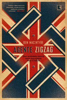 Agent Zigzag by Elmo Rosa, via Behance