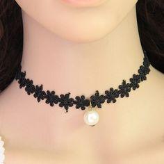 Collar gótico , collar de moda