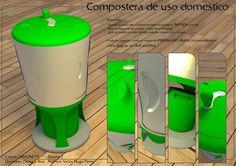 Compostera de uso domestico