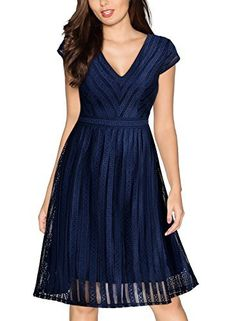 Miusol Women's Retro V Neck Embroidered Cap Sleeve Bridesmaid Party Swing Dress Miusol, http://www.amazon.com/dp/B01MZHI12P/ref=cm_sw_r_pi_dp_x_T5XnzbSXR3684
