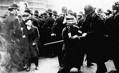 """""""November Black Friday, when 300 suffragettes went to protest at Westm. Black Friday Fights, Best Black Friday, Black Friday History, Black History, London Photos, Photos Du, St Margaret, Houses Of Parliament, 27 Years Old"""