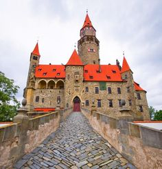 in Czechia Wonderful Places, Beautiful Places, Cathedral Church, Historical Monuments, Manor Houses, Central Europe, Ancient Architecture, Cathedrals, Ancestry