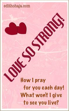 LOVE SO STRONG!!! (SHORT STORY) This is a story of a young couple that is facing challenges but keeping hope alive. It is a story of true love, undeterred by circumstances. It is a story of faith and joy in the midst of trials. What a combination!