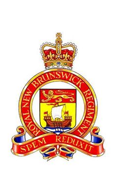 The Royal New Brunswick Regiment - Wikipedia Military Cap, Military Units, Military Insignia, Military Service, Canadian Army, Badges, Afghanistan War, New Brunswick, Coat Of Arms