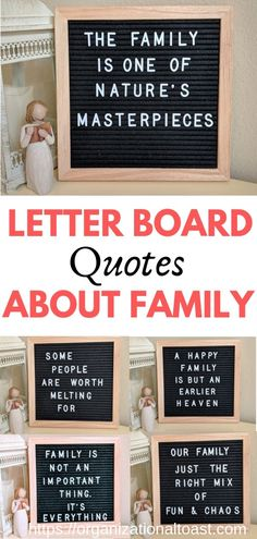 Best quotes about family for your letter board. The cutest letter board quotes about family! These quotes display so nicely on your letter board and are a beautiful reminder of the importance of family. Felt Letter Board, Felt Letters, Felt Boards, Fake Family Quotes, Best Quotes About Family, Best Ted Talks, Adorable Quotes, Cute Letters, Ohana Means Family