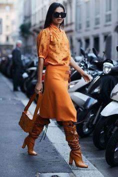 The Best of Milan Fashion Week Street Style via @WhoWhatWearUK