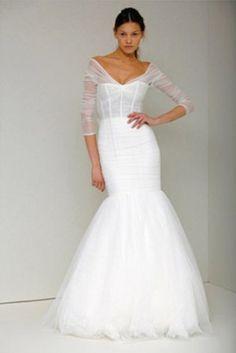 monique lhuillier wedding dress #MyGatsby Wedding