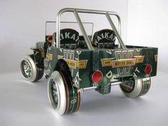 Авто из пивных баночек