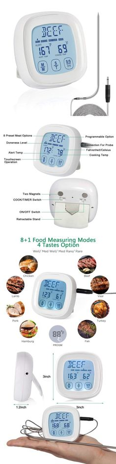 ❤ Barbecue Lavatools Javelin Pro Duo Ambidextrous Backlit Instant Read Digital