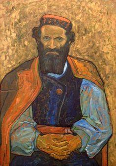 Ludi Mile: 1913 by Ivan Meštrović (Croatian 1883 – Croatia Pictures, Ivan Mestrovic, Kandinsky, Landscape Art, Folklore, Painters, Pop Culture, Oriental, Eye