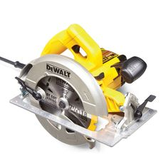DeWalt DWE575 - Circular Saw Review: What are the Best Circular Saws? Get the guide: http://www.familyhandyman.comtools/circular-saws/circular-saw-review-what-are-the-best-circular-saws
