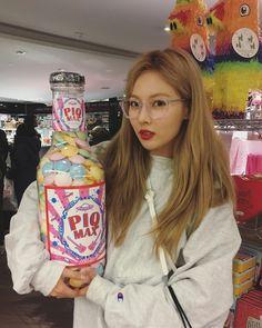 #Hyuna ❤