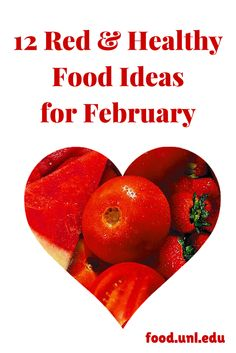 12 healthy red food ideas for February