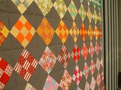I am growing more fond of grey in quilts ... this is very lovely..