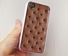 Ice Cream Sandwich iPhone 4 Case, iPhone 4s Case, iPhone Case, iPhone hard Case