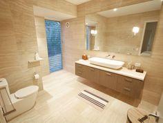 Travertine Tile Bathroom Designs