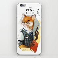 iPhone & iPod Skins by Anafonso | Society6