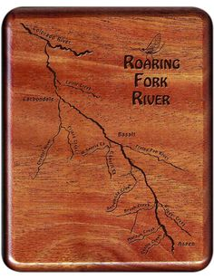 38 Best Colorado River Map Fly Boxes images in 2019